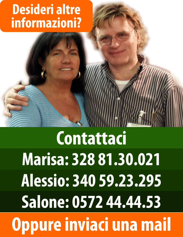 Contatta Alessio e Marisa
