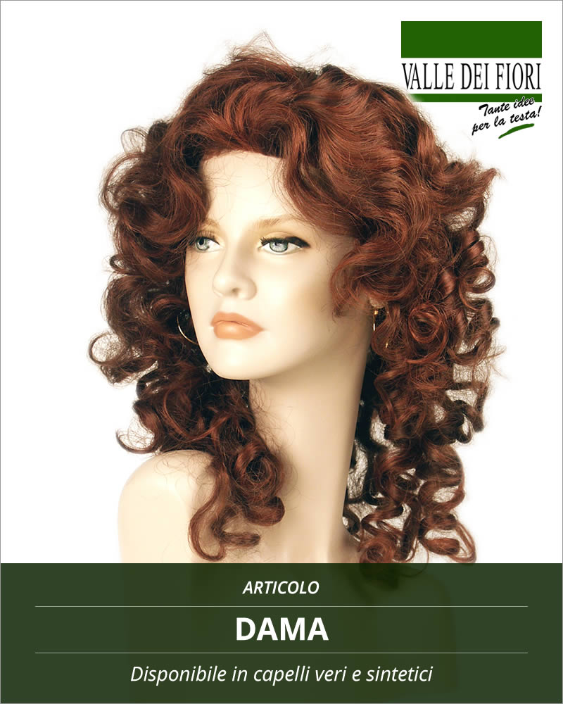 Parrucca donna Dama