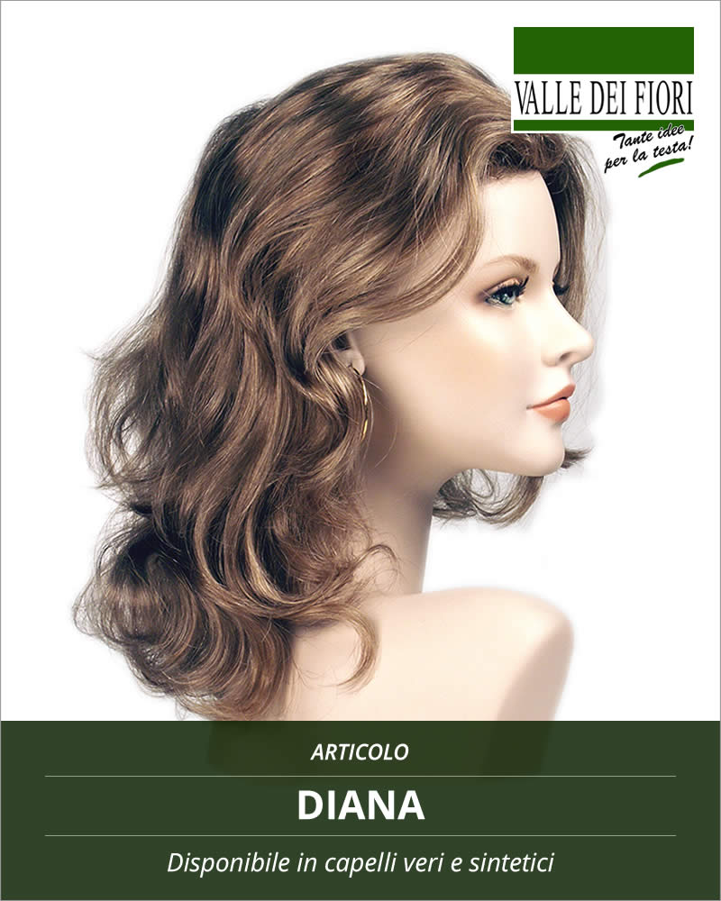 Parrucca donna Diana