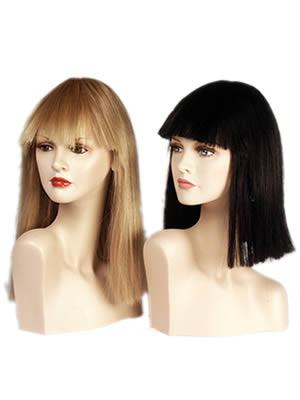 Parrucca donna carrè liscia