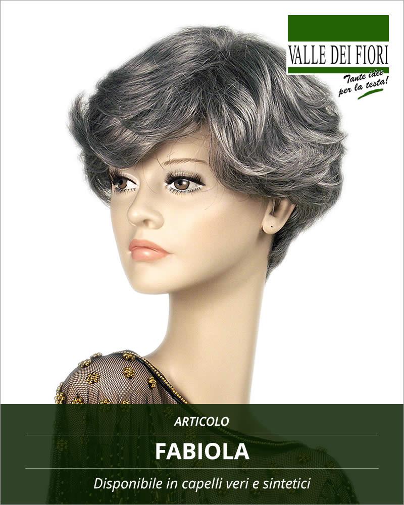 Parrucca donna Fabiola