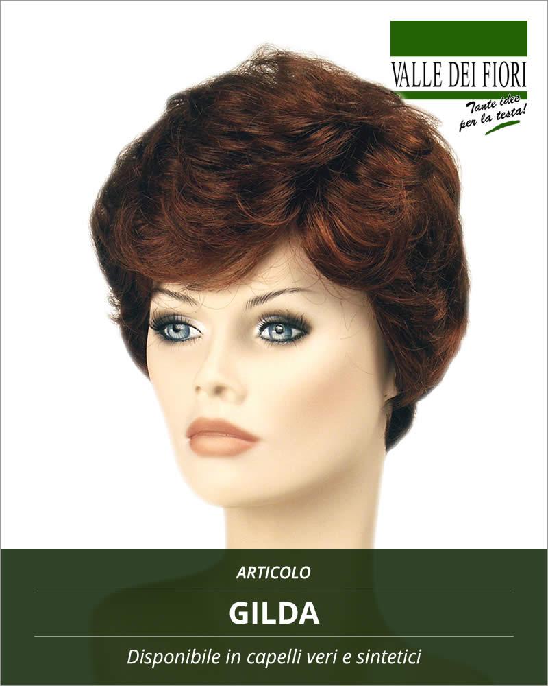 Parrucca donna Gilda