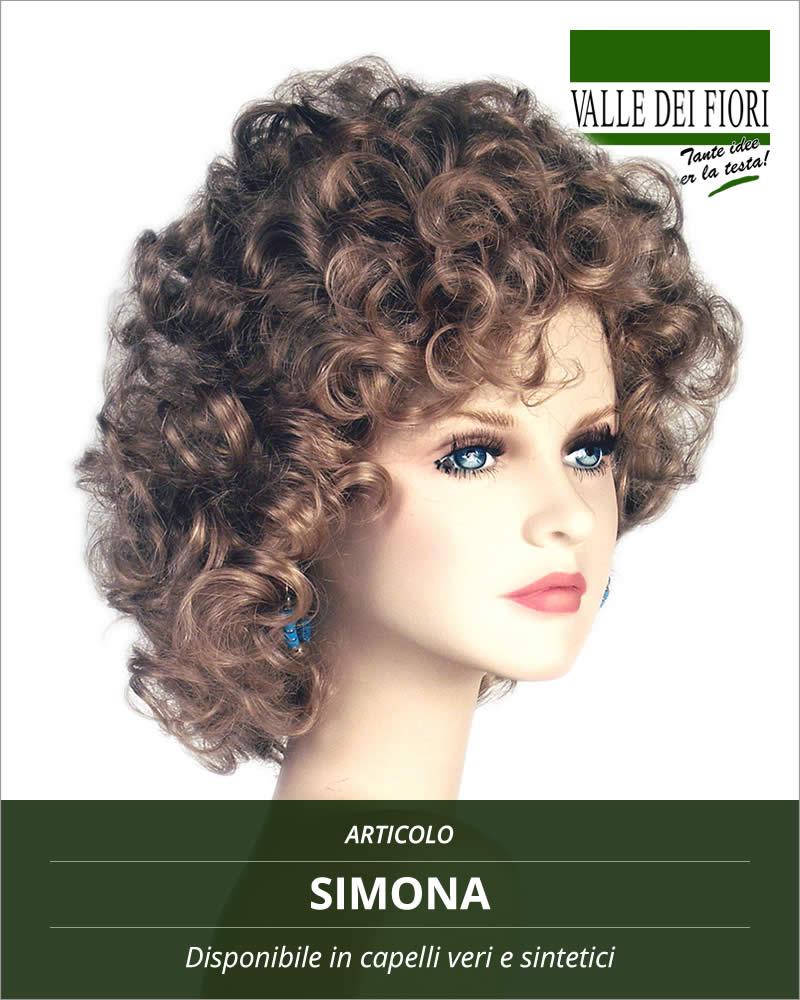 Parrucca donna Simona