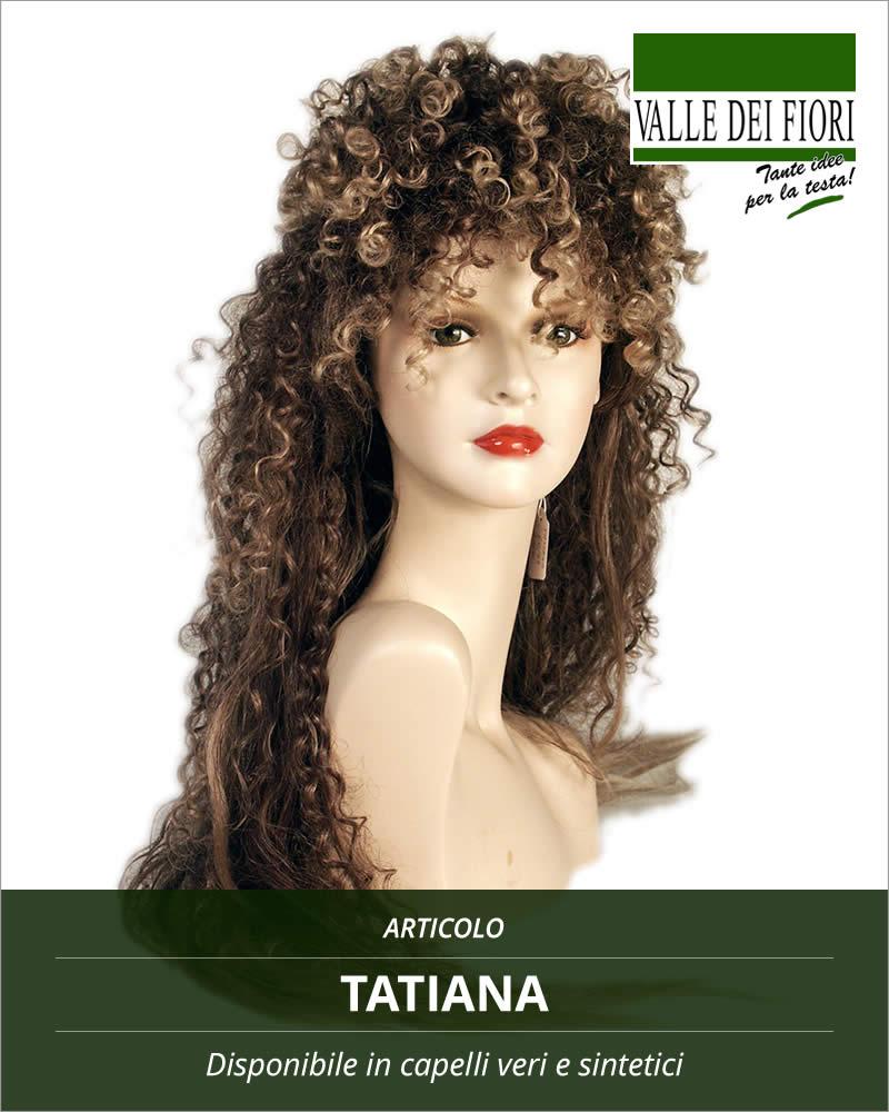 Parrucca donna Tatiana