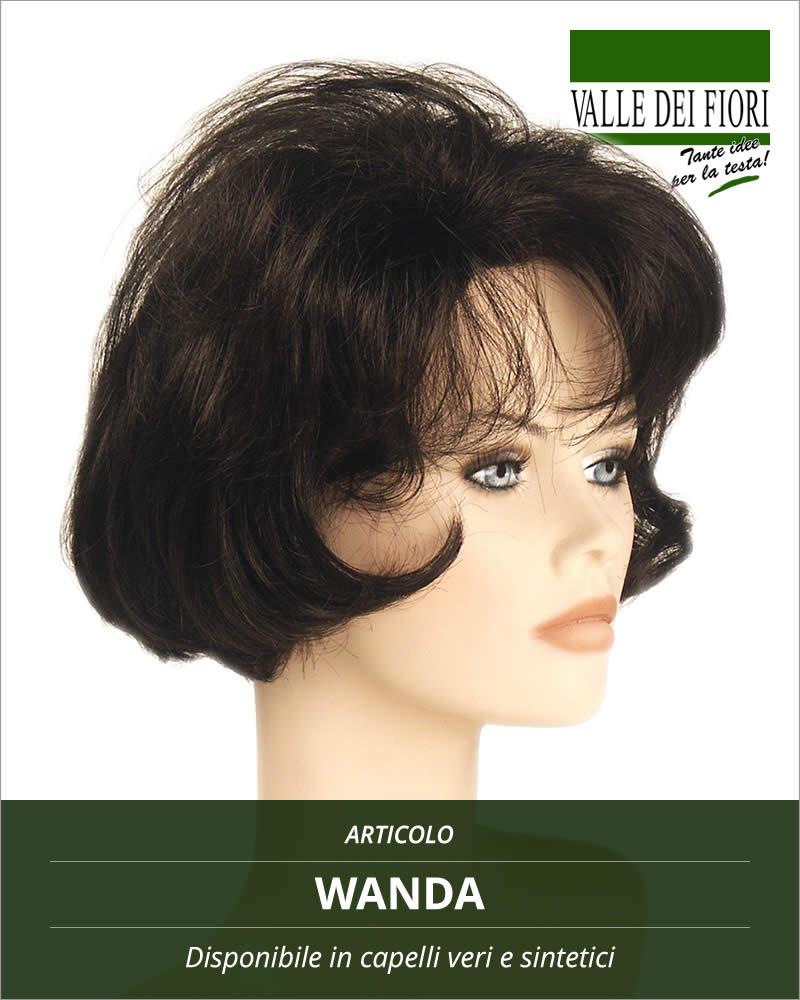 Parrucca donna Wanda